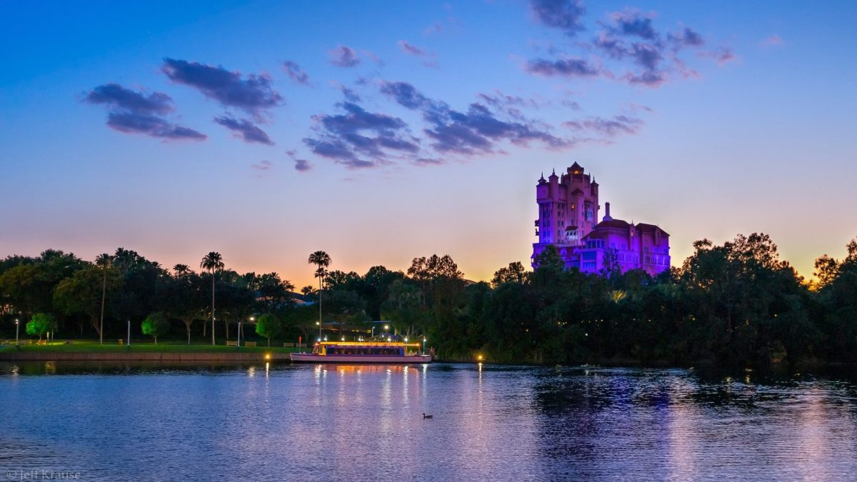 Spring Sunset over Hollywood Studios. Photo by Jeff Krause via Flickr CC
