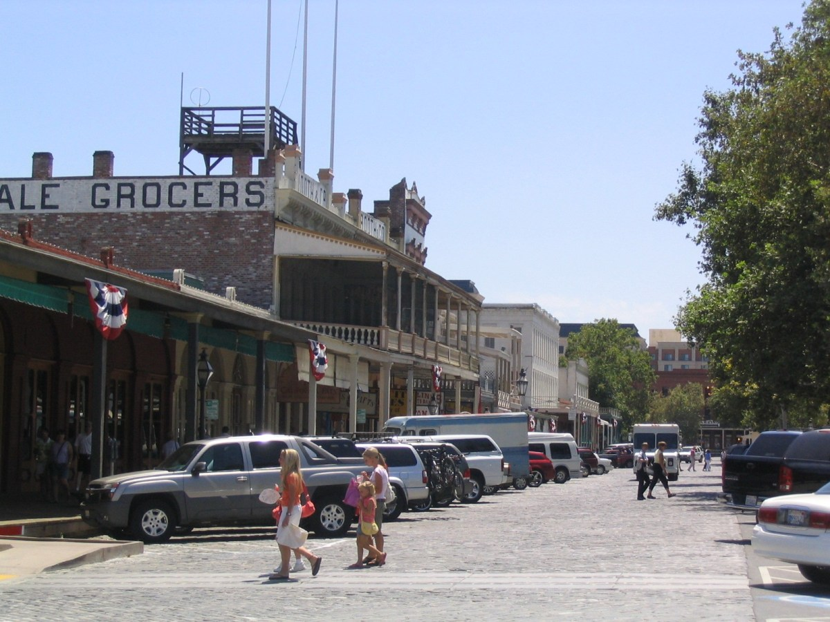 Old Sacramento by Marilyn M via Flickr CC