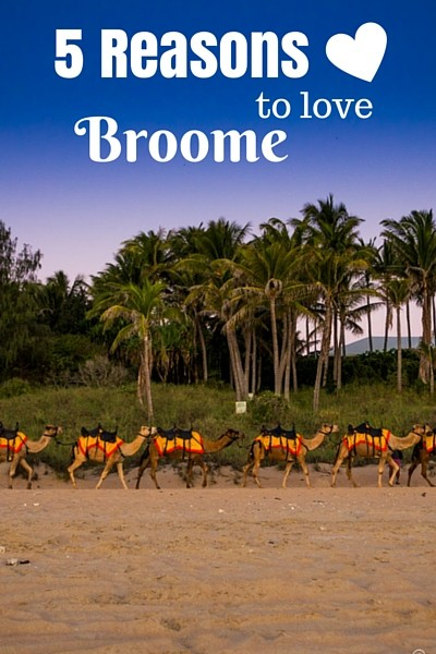 Without much effort Broome has made its way onto the list of our favourite places in all of Australia. Here are 5 reasons why we love Broome!