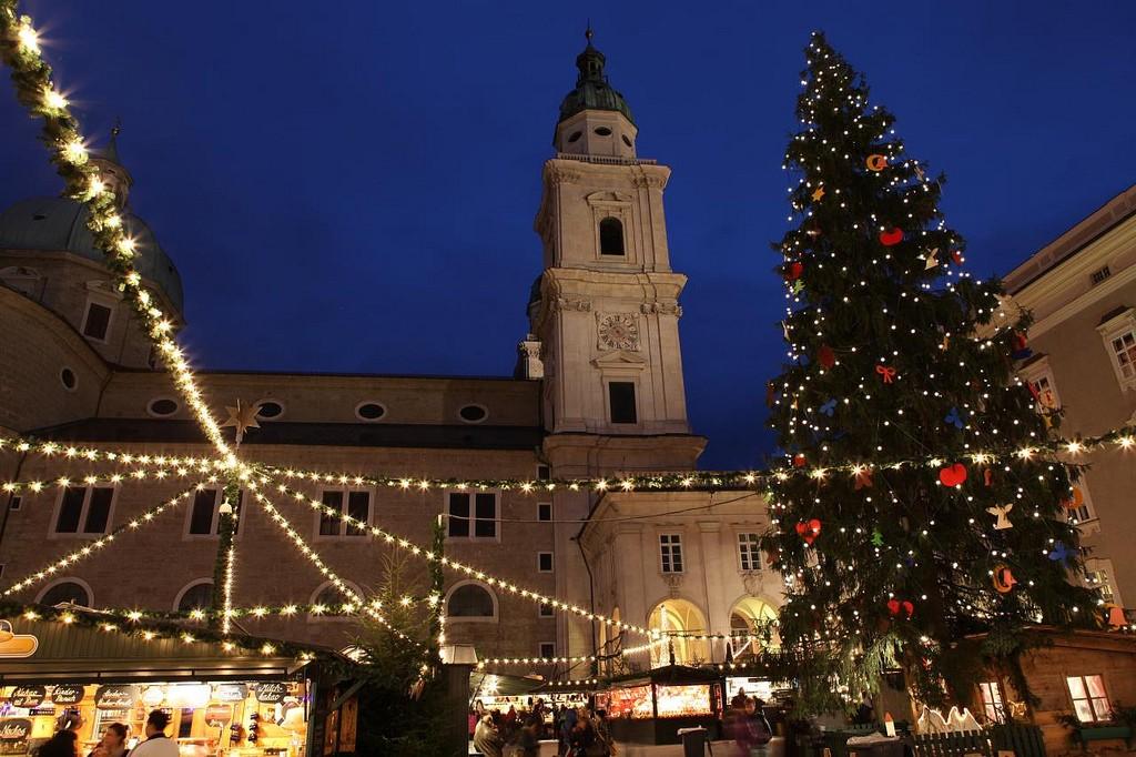 Salzburg Christmas Market. Austria