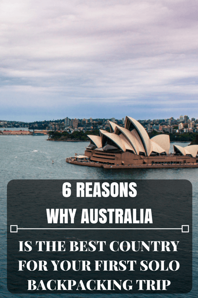 If you have been dreaming about traveling on your own and needed a destination that will tick all the boxes, Australia is it!