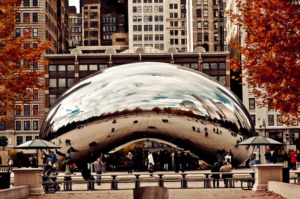 Millenium Park/ Photo by Shannon O'Toole via Flickr CC