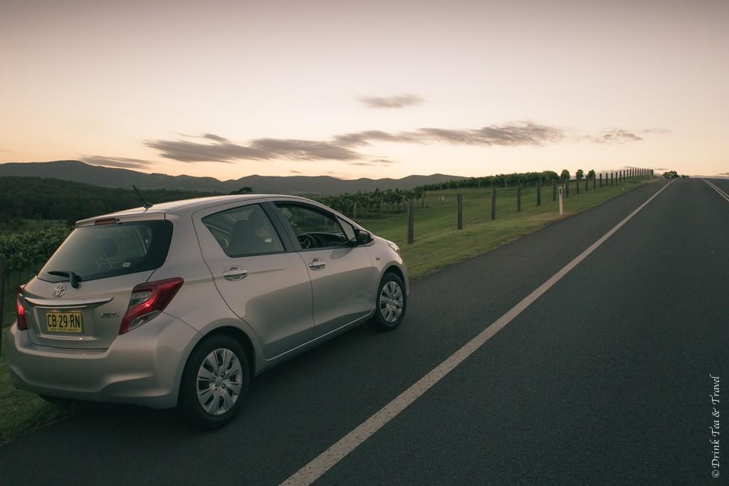 Our getaway car. Hunter Valley, Australia