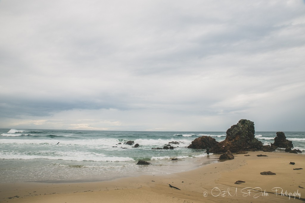 Quiet morning on Flynn's Beach, Port Macquarie, NSW