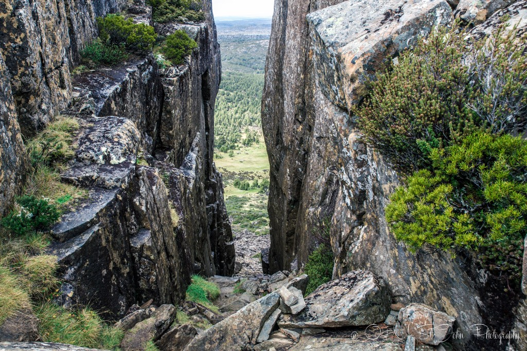 Solomon's Throne Peak, Wall of Jerusalem National Park, Tasmania.