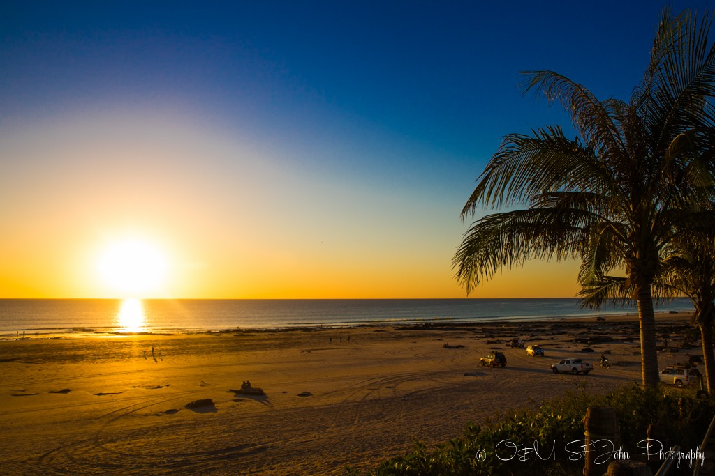 Sunset over Cable Beach, Broome. Western Australia
