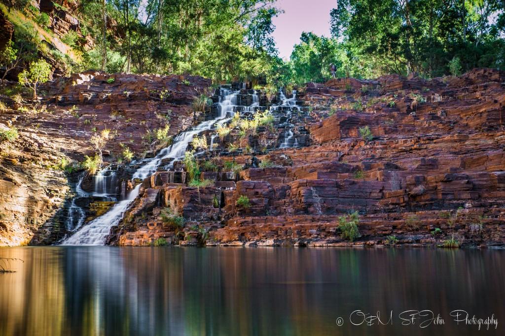 Fortescue Falls. Dales Gorge. Karijini National Park. Western Australia