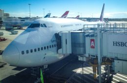 Flight to Brazil