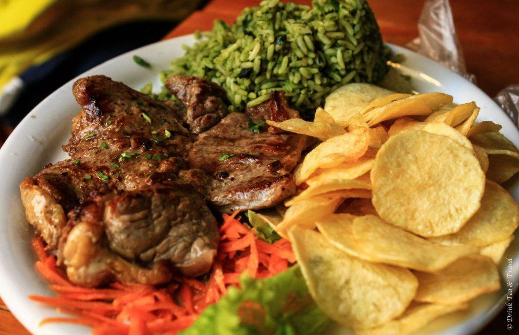 Brazilian dishes: Steak meat