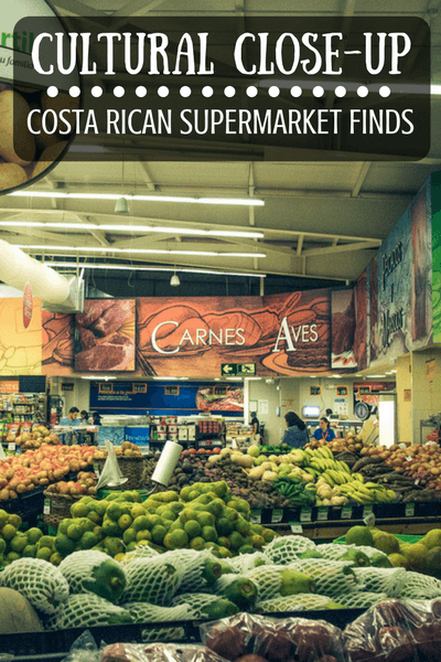 One of my favourite things to doin anew country is visiting the local supermarket and that's exactly what I did in Costa Rica...