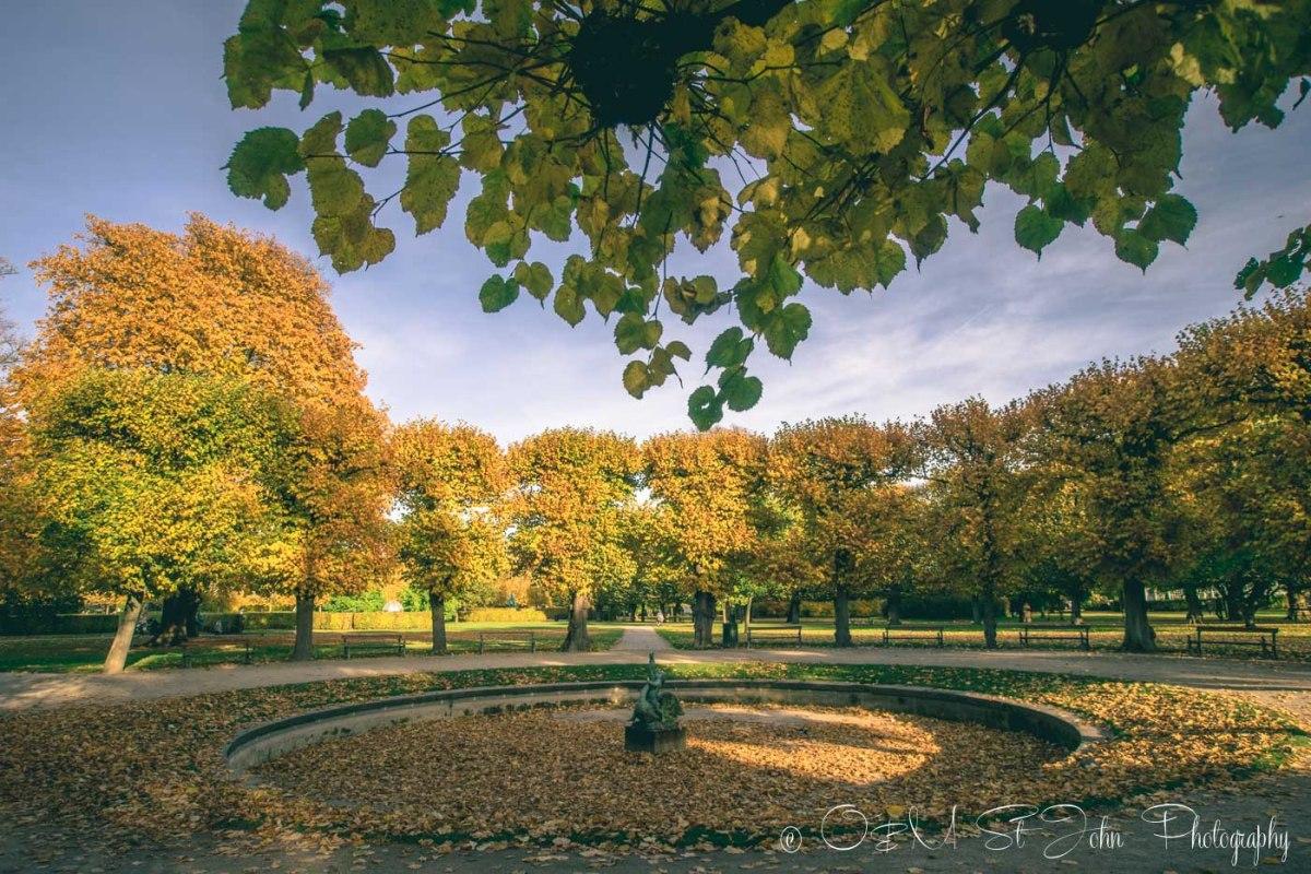 Fall in Copenhagen. Denmark