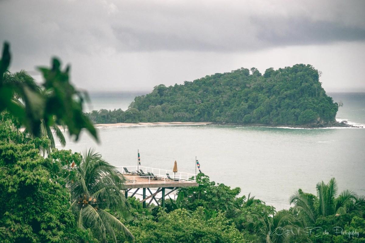 View from Hotel Costa Verde. Overlooking Manuel Antonio National Park