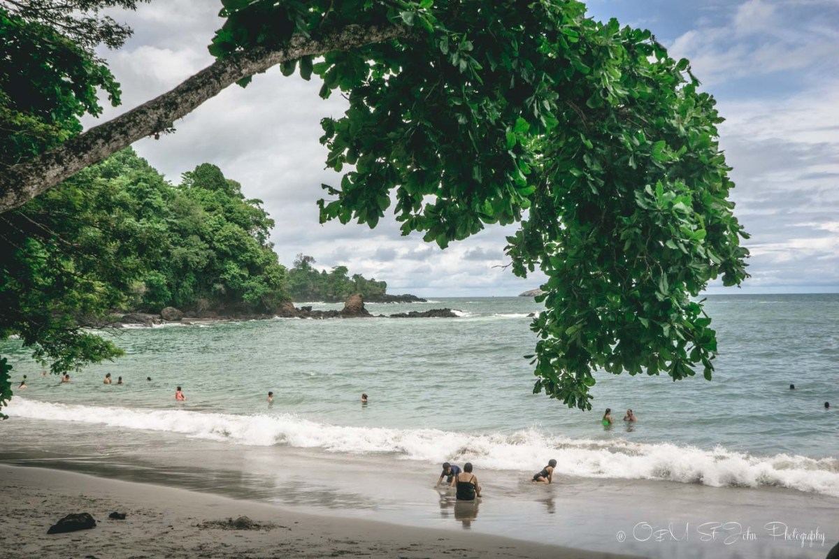 Manuel Antonio Beach is a great spot if you are looking to relax and spend a few hours inside the park. Costa Rica