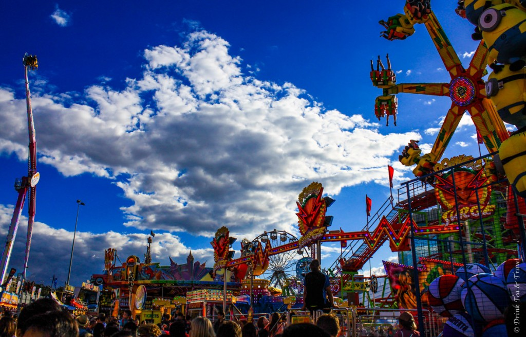The thrill rides at Royal Queensland Show