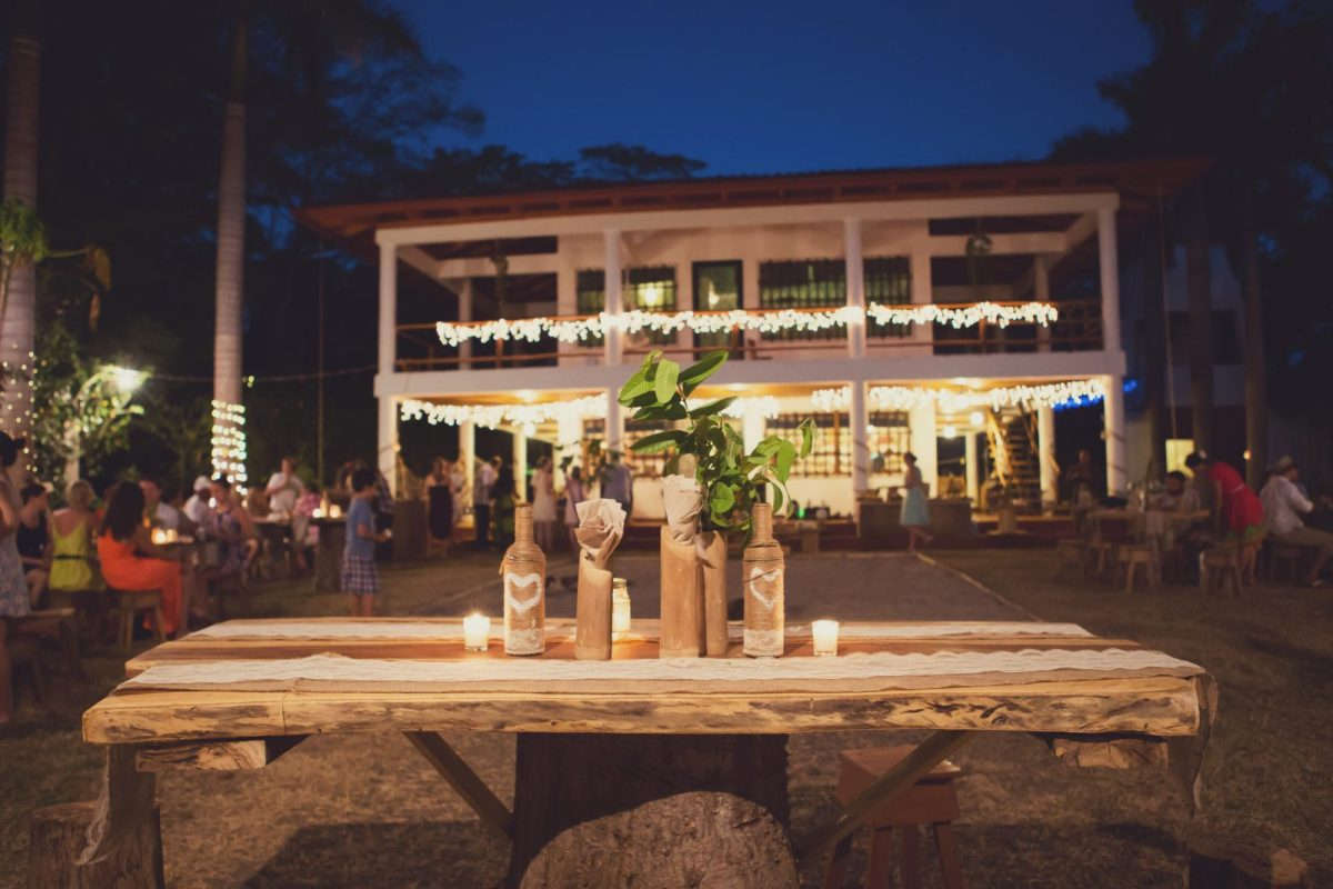 Magic reception. Wedding. Costa Rica