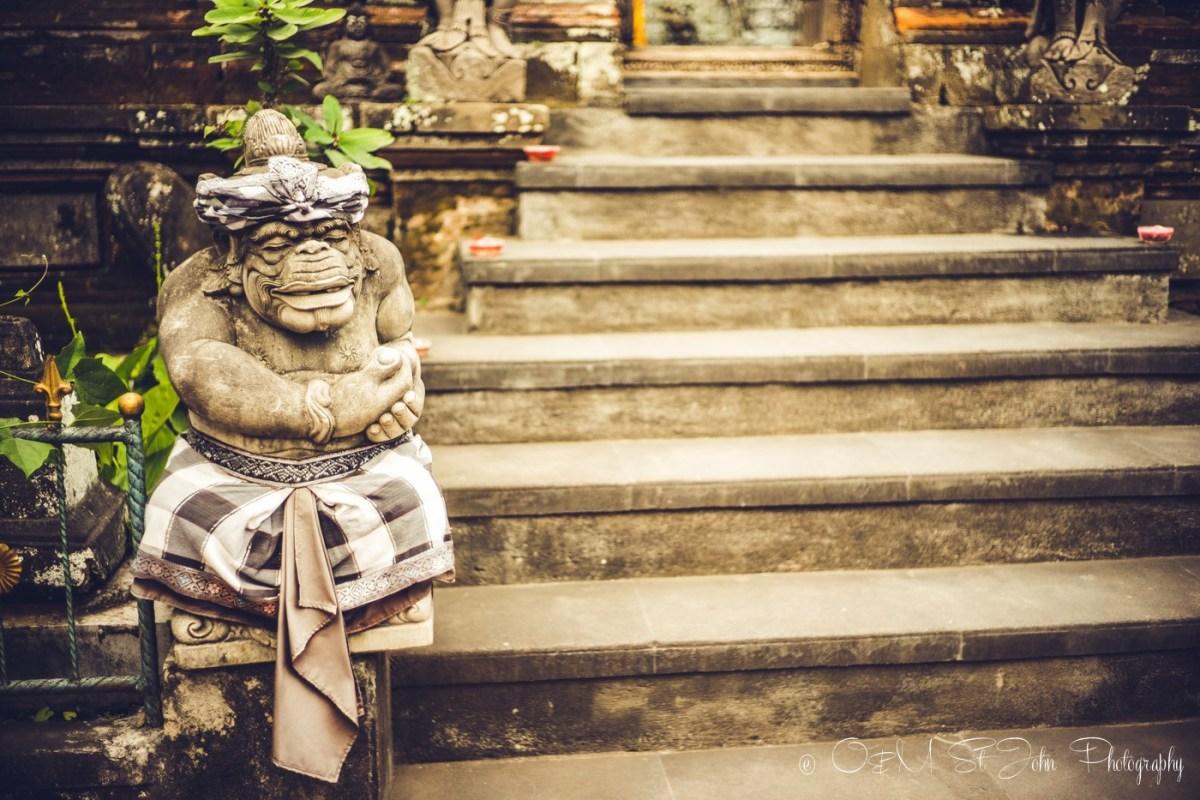 Statue in Ubud, Bali. Indonesia