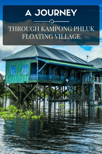 Kampong Phluk floating village Near Siem Reap offers a unique experience, that exposes you to the hardships and tribulations facing the locals daily life.