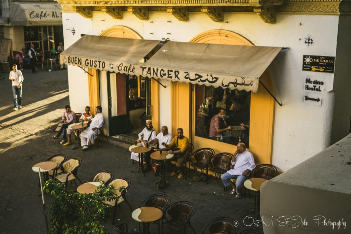 Cafe Tanger, Tangier, Morocco