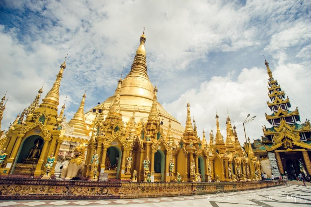 Shwedagon Pagoda, Yangon. Myanmar