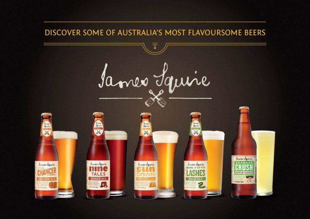 James Squire beers