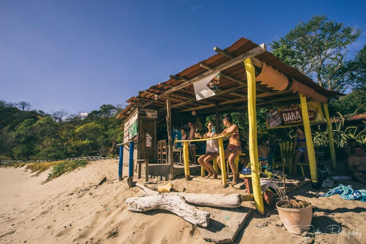 Restaurant Matilda at Playa Majagual. San Juan del Sur. Nicaragua