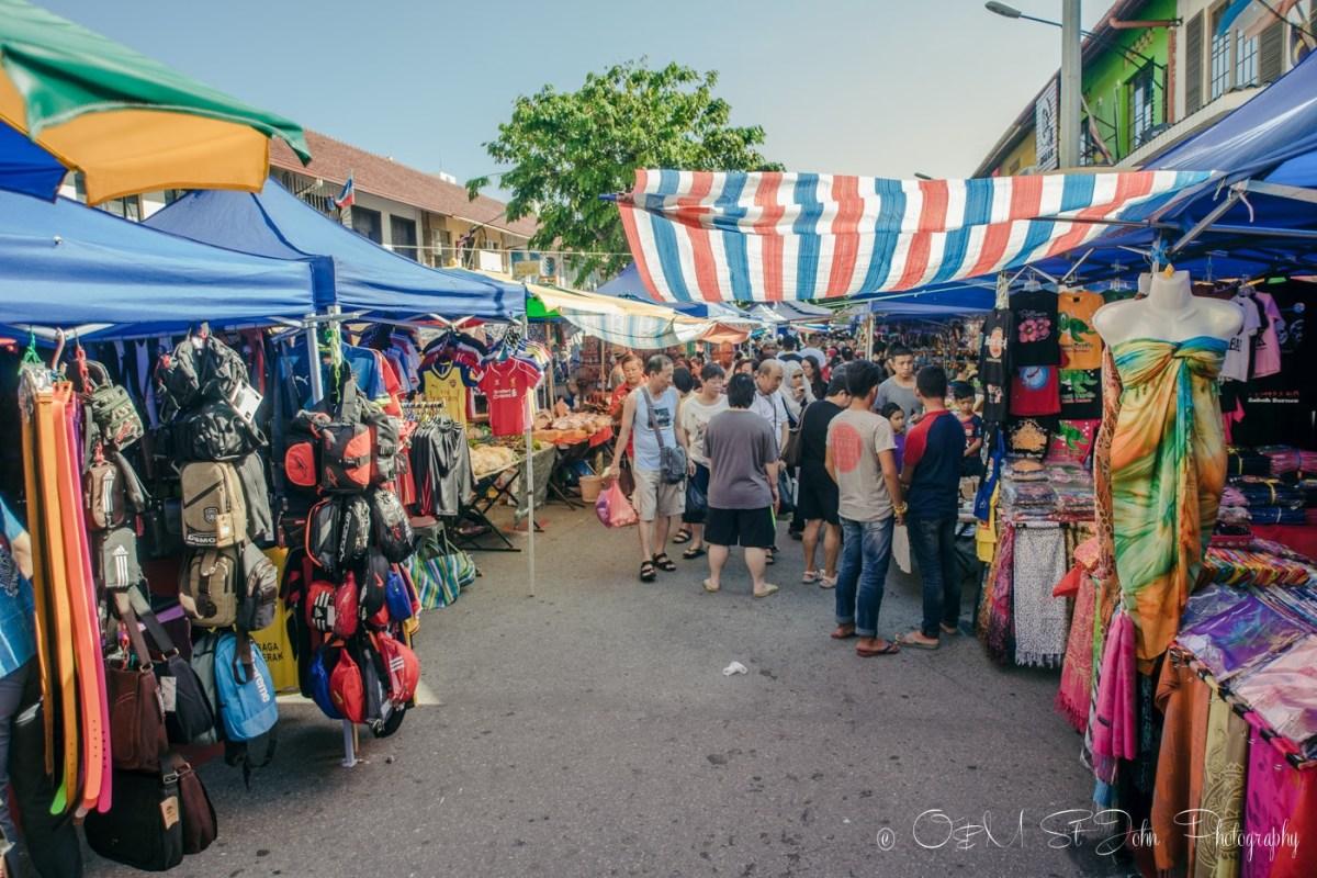 Gaya Street Sunday Market, Kota Kinabalu. Sabah. Malaysia