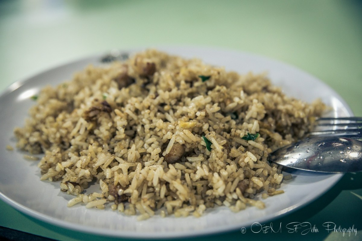 Chicken Fried Rice at the Old Airport Road Food Centre. Singapore
