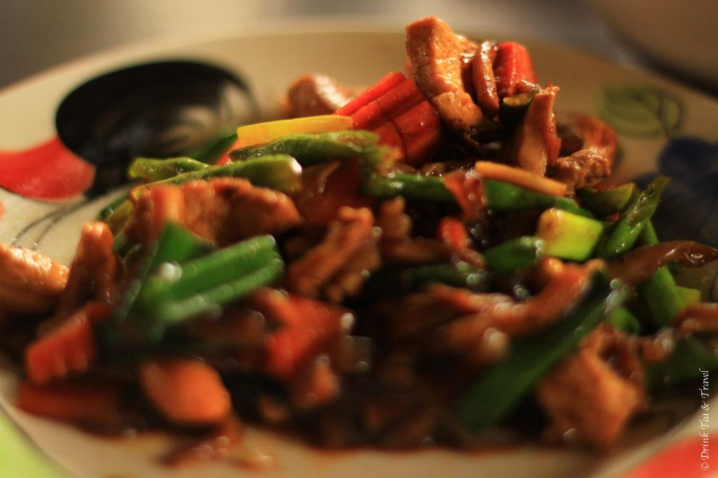 Cashew Nut Chicken, Thai Farm Cooking School