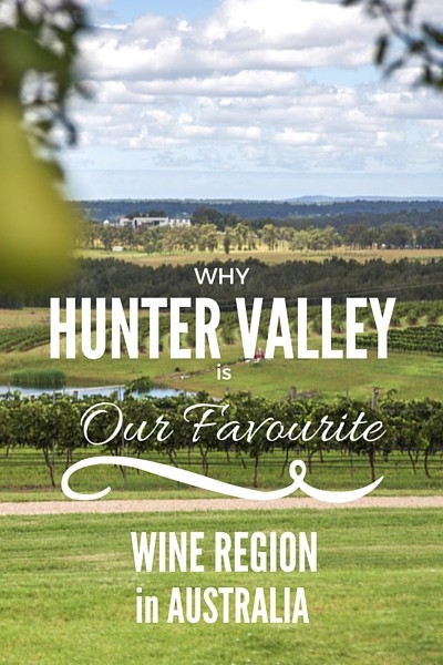 At first glance, Hunter Valley didn't strike me as any different than Yarra Valley or Barossa Valley. Same beautiful vineyard views, rolling green hills, and no shortage of wineries to explore (140 to be more precise), but by the end of our time there, Hunter Valley earned the title of our favourite wine region in Australia