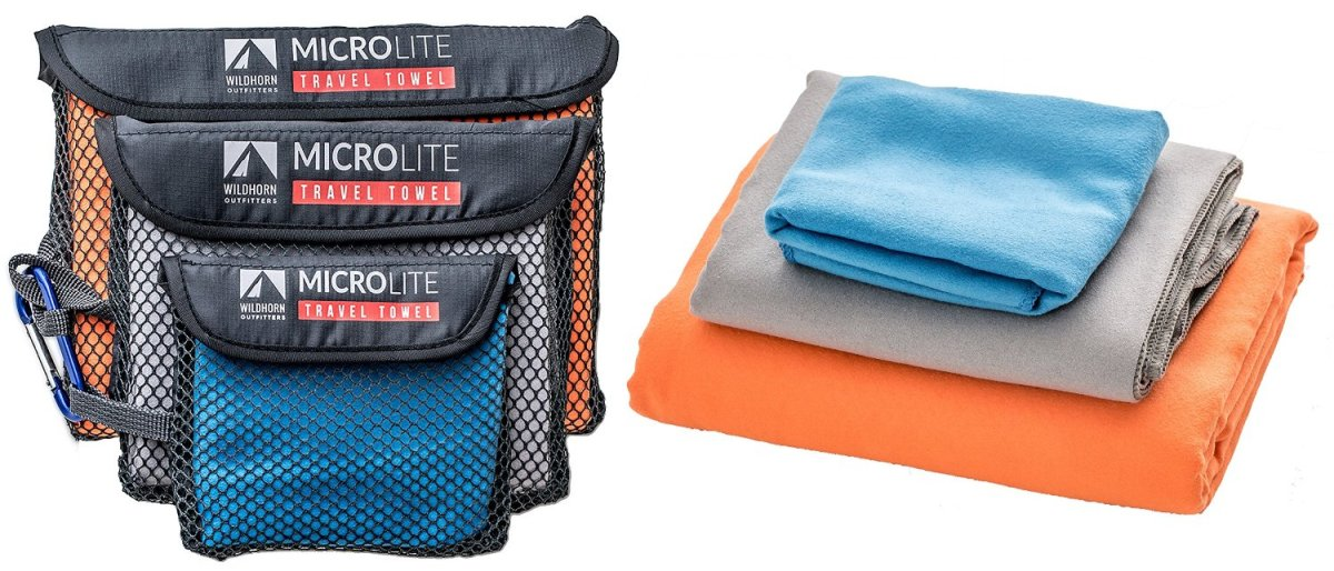 MicroFiber Travel Towel Bundle