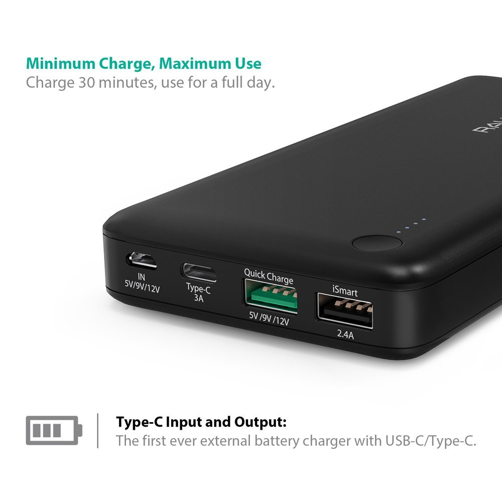 RAVPower 20100mAh External Battery Pack Power Bank