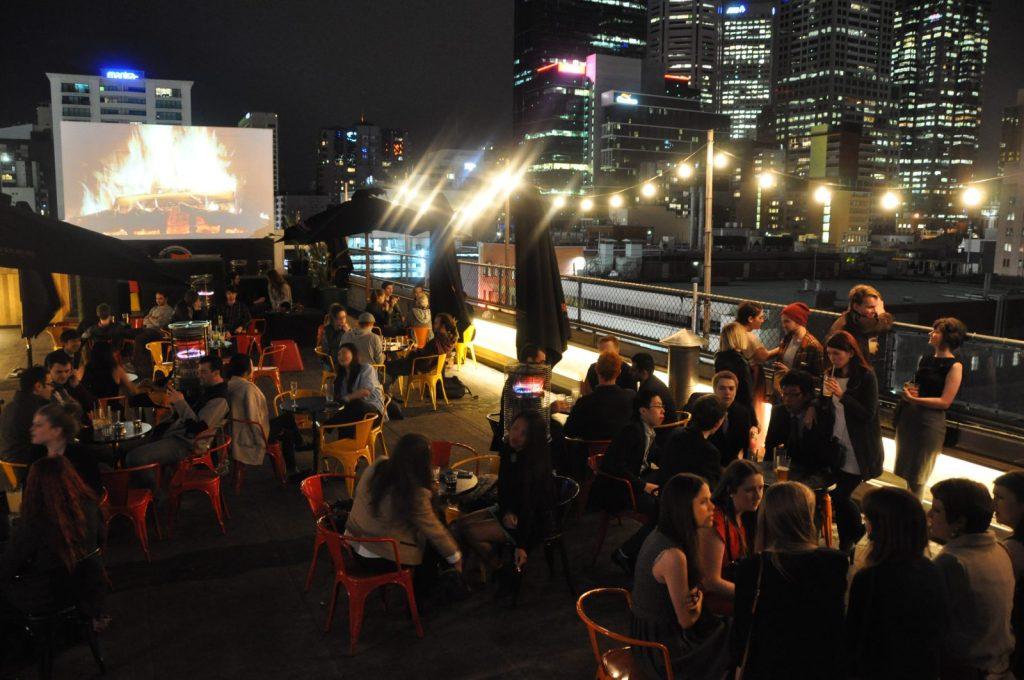 Tips for visiting Melbourne: Rooftop Bar in Melbourne