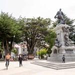 30Dec13 Day55 - Plaza de Armas, Punta Arenas