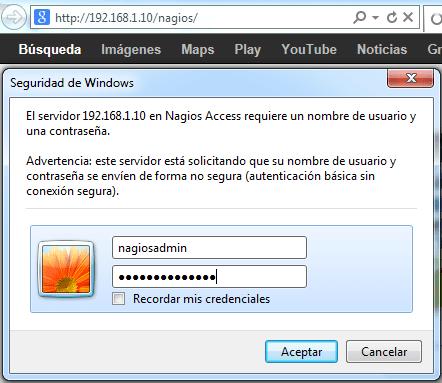 Nagios-login
