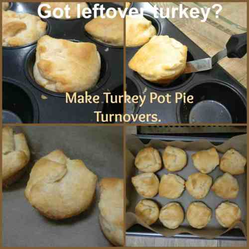 turkey pot pie turnovers