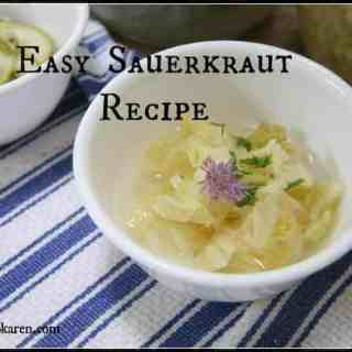 easy sauerkraut recipe by ecokaren