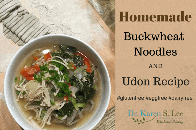 Buckwheat Noodles + Udon Recipe