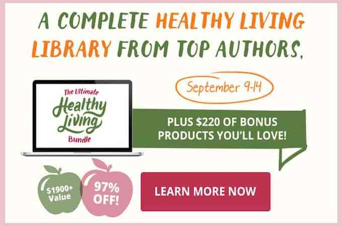 The Ultimate Healthy Living Bundle SALE