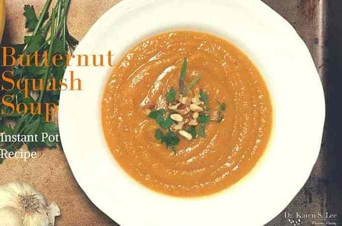 Butternut Squash Soup – Instant Pot Recipe