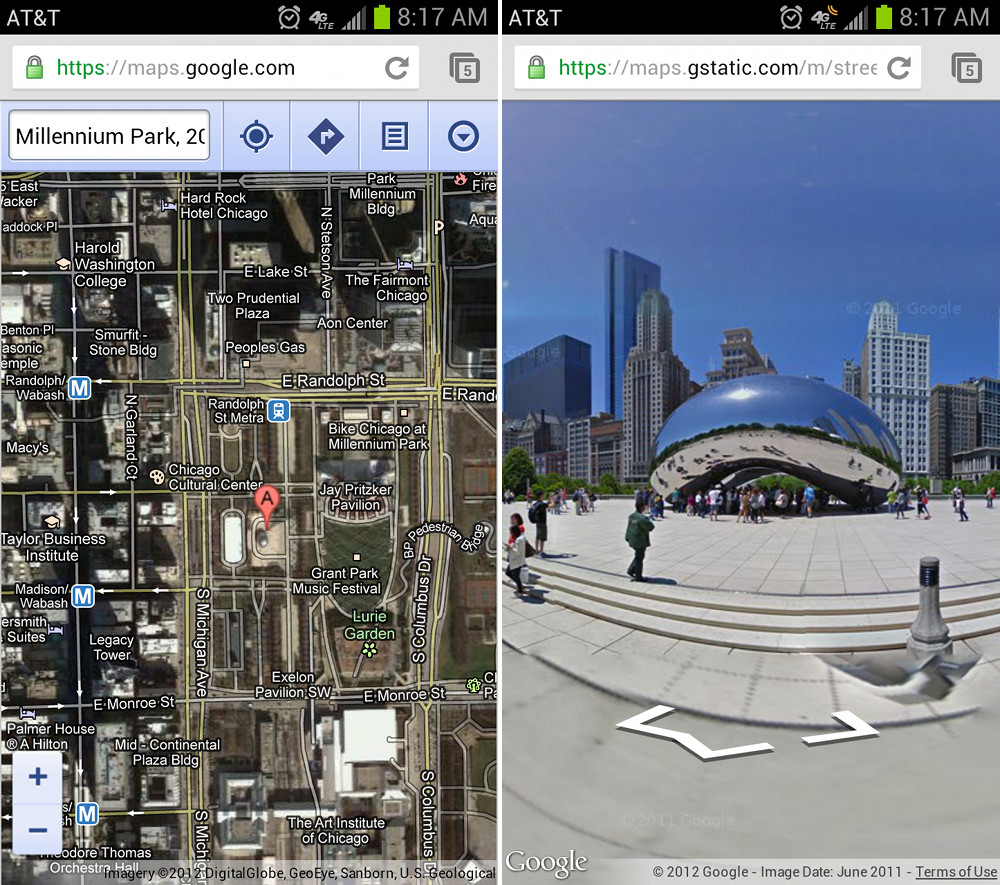 Google Adds Street View to Maps on Mobile Browsers  I Think We All     Google