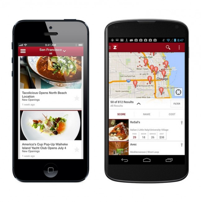 new zagat android