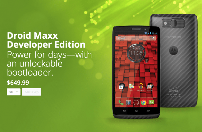 droid maxx developer edition