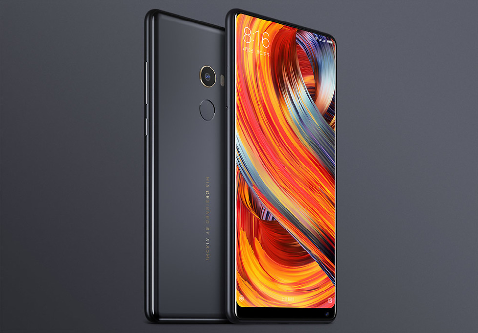 xiaomi announced new phones this morning but there is one that going to steal all of the headlines that phone mi mix 2 and it s grabbing