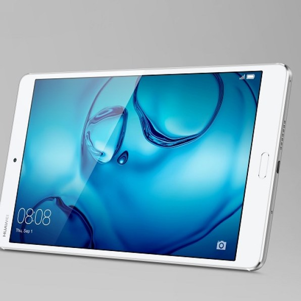 MediaPad M3 silver Product Shot Stand3