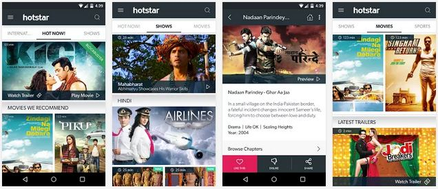 Hotstar Live TV for PC (Windows 7, 8) – Free App Download