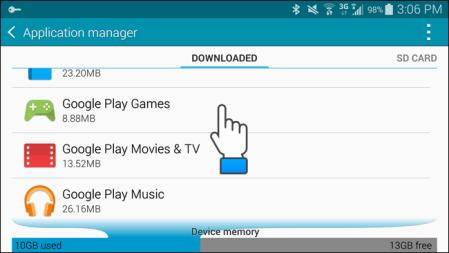 Open Google Play Games