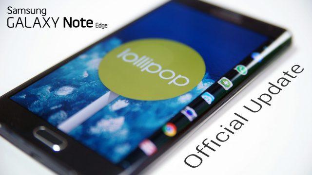 Galaxy Note Edge N915F to 5.1.1 Lollipop