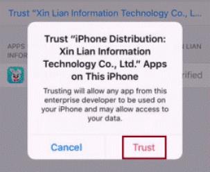 Trust Enterprise tutuapp