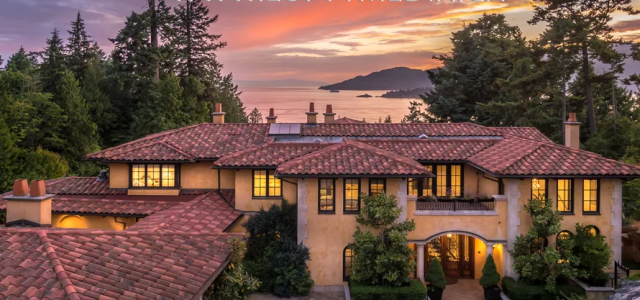 Incredible drone footage shows Vancouver's most lavish real estate