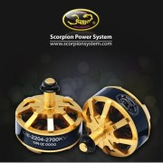 Scorpion MII 2204 2300kv and 2700kv motors announced